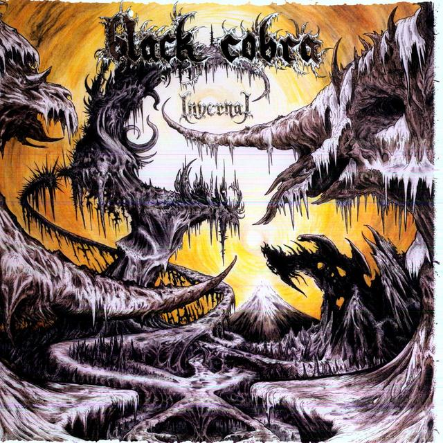 Black Cobra INVERNAL Vinyl Record - Deluxe Edition