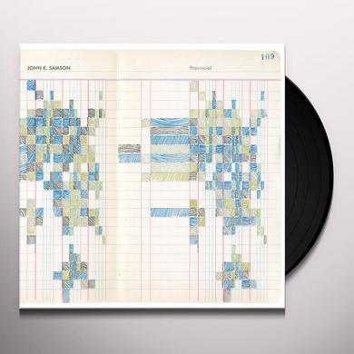 John K. Samson PROVINCIAL Vinyl Record