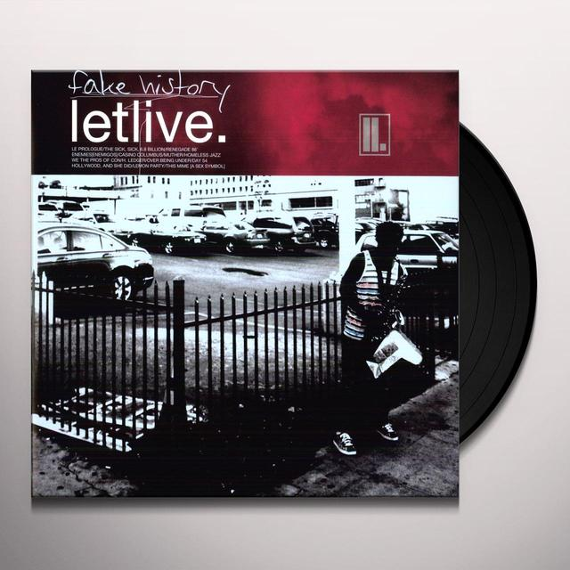 Letlive FAKE HISTORY Vinyl Record