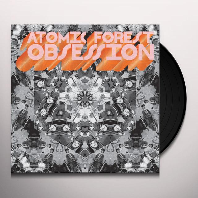 Atomic Forest OBSESSION (W/BOOK)  (RSTR) (SLIP) Vinyl Record - Remastered