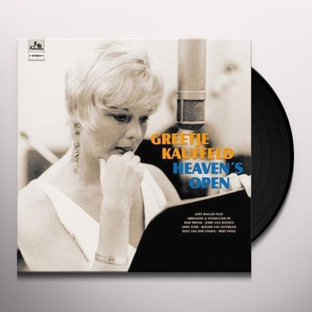 Greetje Kauffeld HEAVEN'S OPEN Vinyl Record