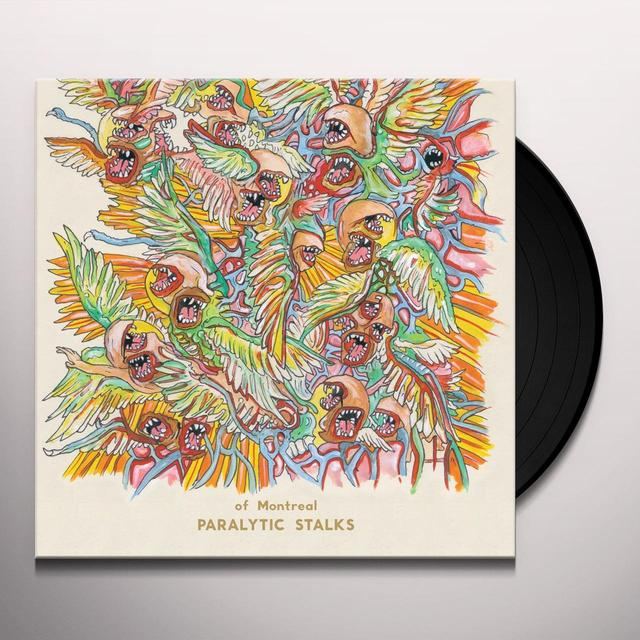 Of Montreal PARALYTIC STALKS Vinyl Record - 180 Gram Pressing, MP3 Download Included