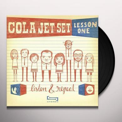 Cola Jet Set LISTEN & REPEAT Vinyl Record