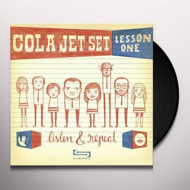 Cola Jet Set LISTEN & REPEAT Vinyl Record