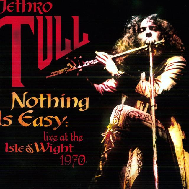 Jethro Tull NOTHING IS EASY Vinyl Record - 180 Gram Pressing