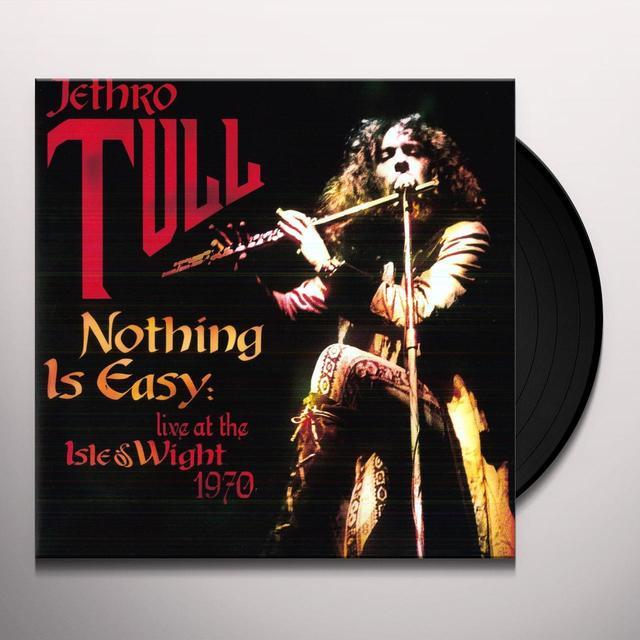 Jethro Tull NOTHING IS EASY Vinyl Record - 180 Gram Pressing