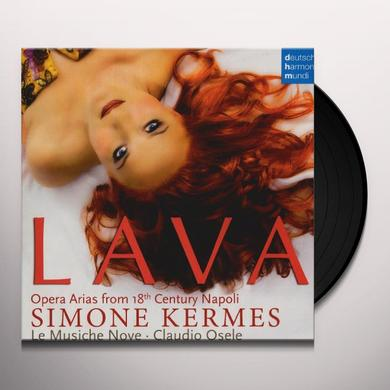 Simone Kermes LAVA: OPERA ARIAS FROM 18TH CENTURY NAPOLI Vinyl Record - Holland Import