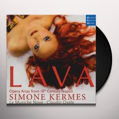Simone Kermes LAVA: OPERA ARIAS FROM 18TH CENTURY NAPOLI Vinyl Record - Holland Import