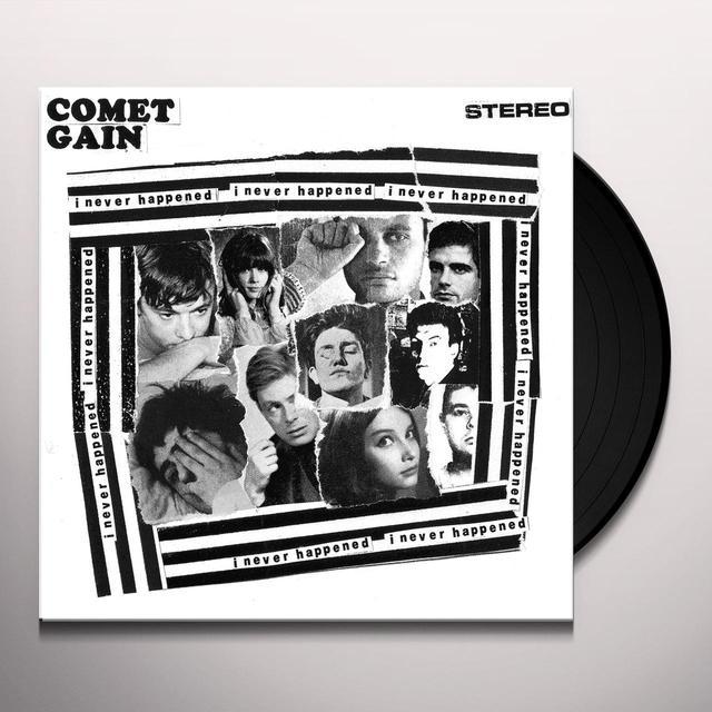 Comet Gain I NEVER HAPPENED Vinyl Record