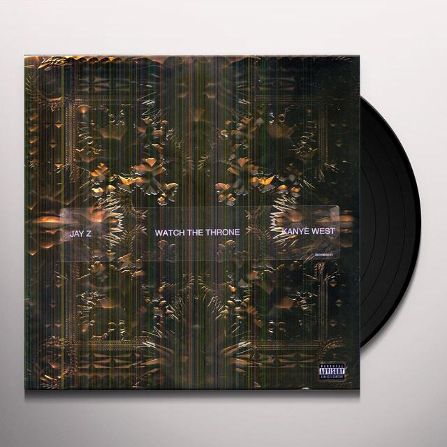 Kanye West  / Jay-Z WATCH THE THRONE Vinyl Record