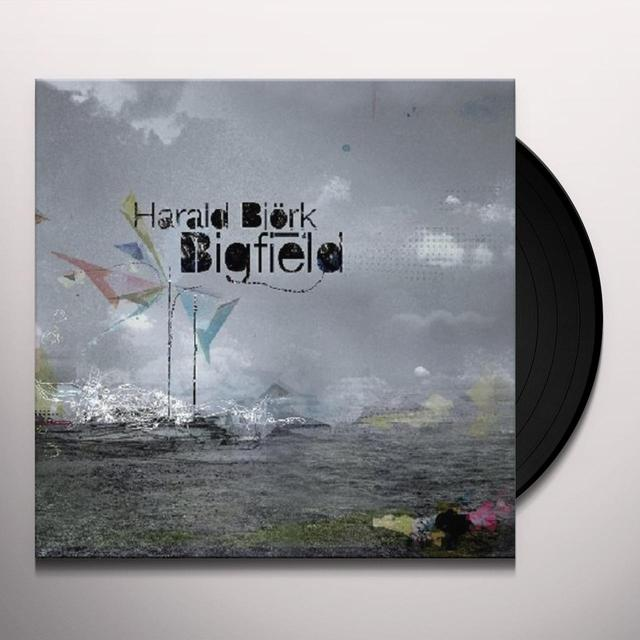 Harald Bjork BIGFIELD REMIXED Vinyl Record