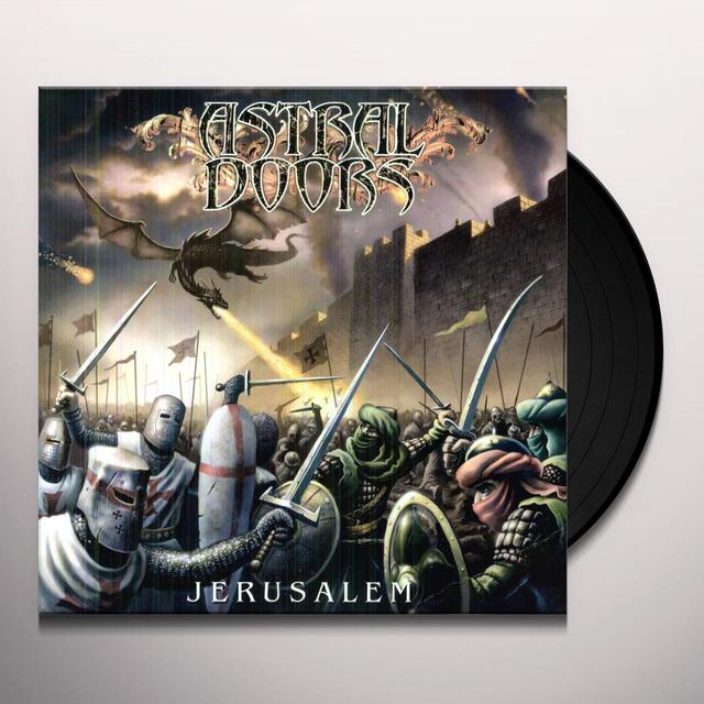 Astral Doors JERUSALEM Vinyl Record