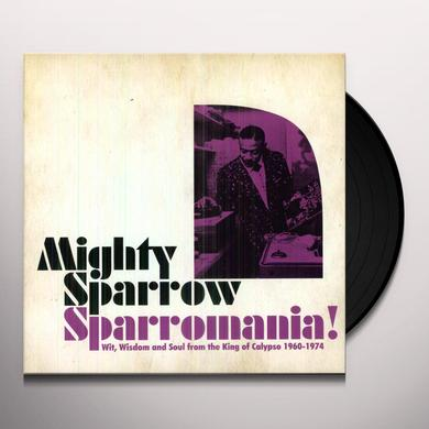 Mighty Sparrow SPARROWMANIA Vinyl Record