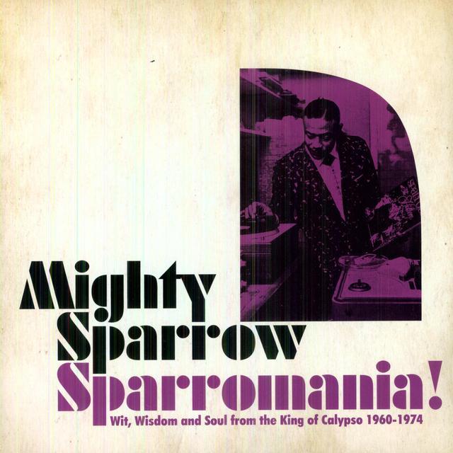 Mighty Sparrow SPARROWMANIA Vinyl Record - Digital Download Included