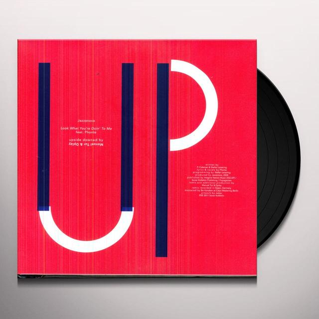 Jazzanova UPSIDE DOWN 2 Vinyl Record