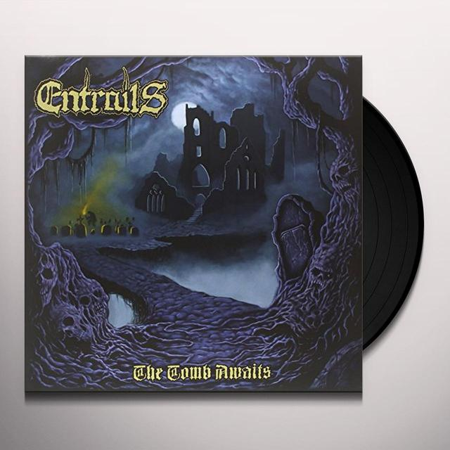 Entrails TOMB AWAITS Vinyl Record