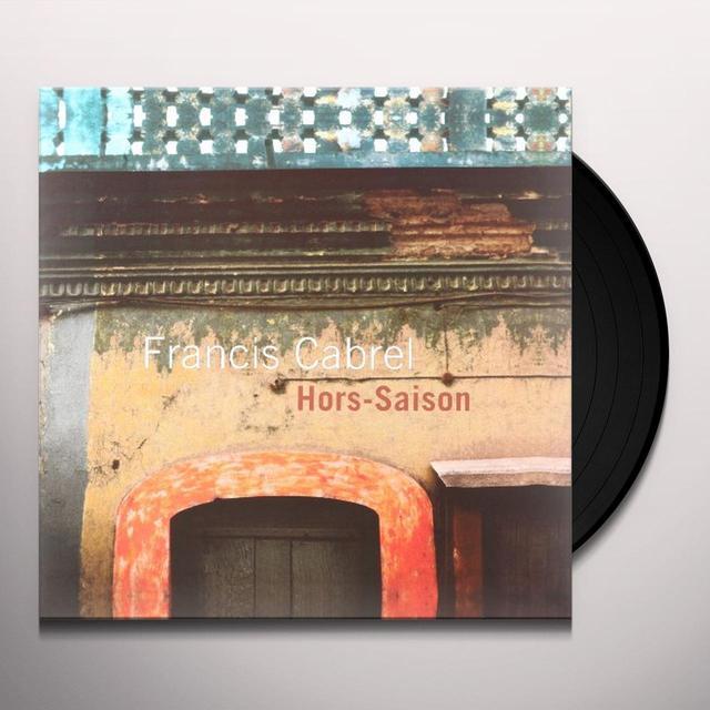 Francis Cabrel HORS SAISON Vinyl Record