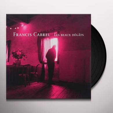 Francis Cabrel LES BEAUX DEGATS Vinyl Record - Holland Release