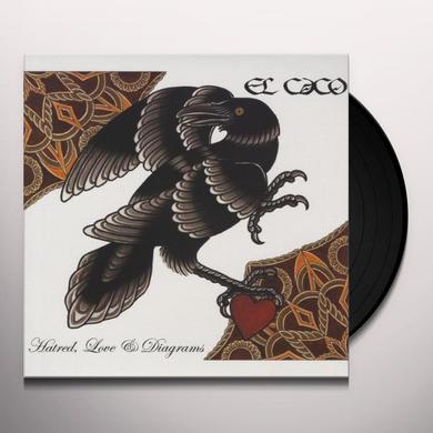 El Caco HATRED LOVE & DIAGRAMS Vinyl Record