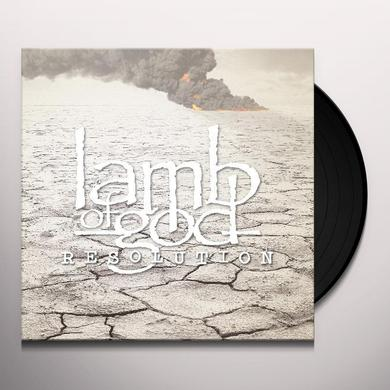 Lamb Of God RESOLUTION Vinyl Record