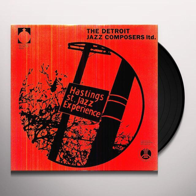 Detroit Jazz Composers Ltd HASTINGS STREET JAZZ EXPERIENCE Vinyl Record
