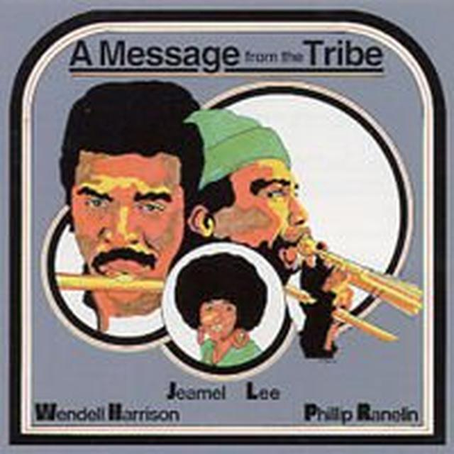 Wendell Harrison MESSAGE FROM THE TRIBE Vinyl Record