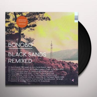 Bonobo BLACK SANDS REMIXED Vinyl Record
