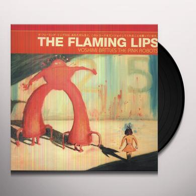 The Flaming Lips YOSHIMI BATTLES THE PINK ROBOTS Vinyl Record