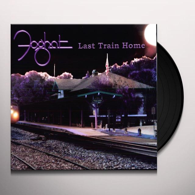 Foghat LAST TRAIN HOME Vinyl Record