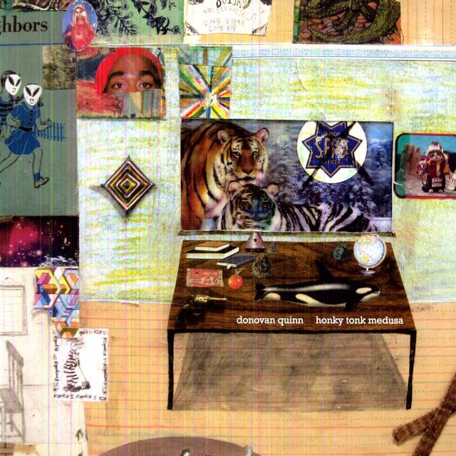 Donovan Quinn HONKY TONK MEDUSA Vinyl Record