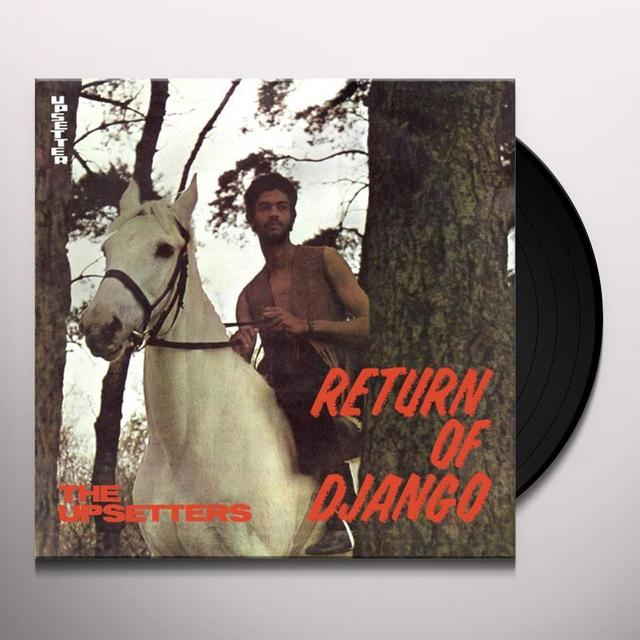 The Upsetters RETURN OF DJANGO Vinyl Record