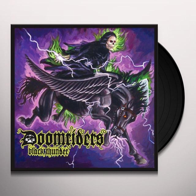 Doomriders BLACK THUNDER Vinyl Record