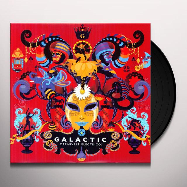 Galactic CARNIVALE ELECTRICOS Vinyl Record