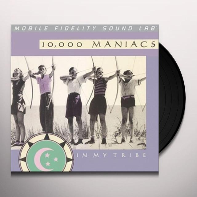 10 000 Maniacs IN MY TRIBE Vinyl Record - Limited Edition