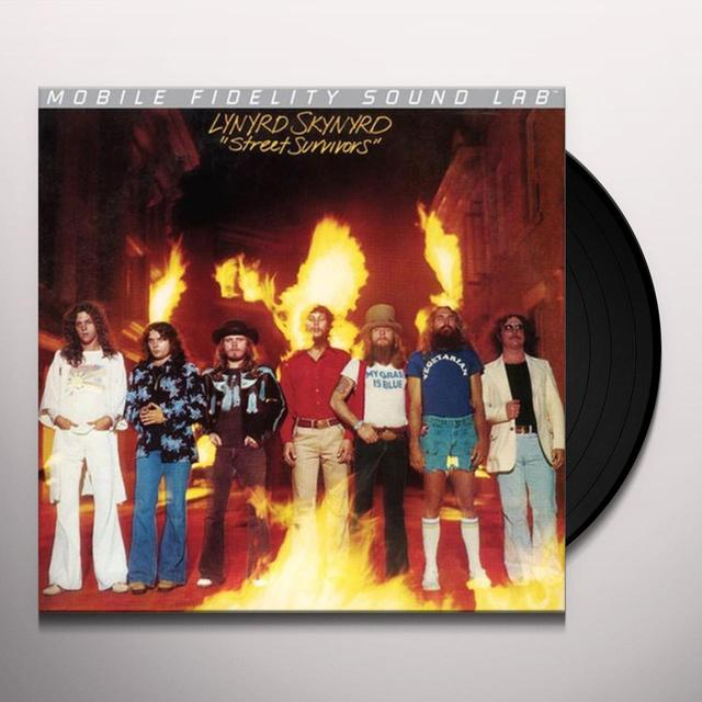 Lynyrd Skynyrd STREET SURVIVORS Vinyl Record - Limited Edition