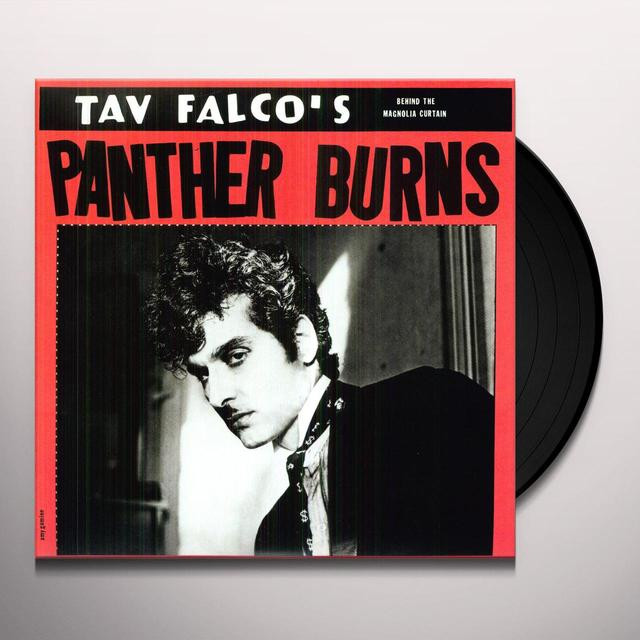 Tav / His Panther Burns Falco LORE & TESTAMENT 1: BEHIND THE MAGNOLIA CURTAIN Vinyl Record