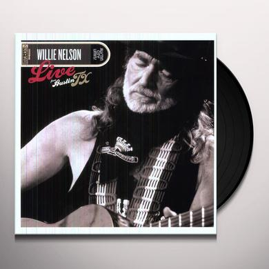 Willie Nelson LIVE FROM AUSTIN TX Vinyl Record