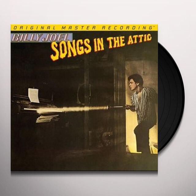 Billy Joel SONGS IN THE ATTIC Vinyl Record - Limited Edition, 180 Gram Pressing