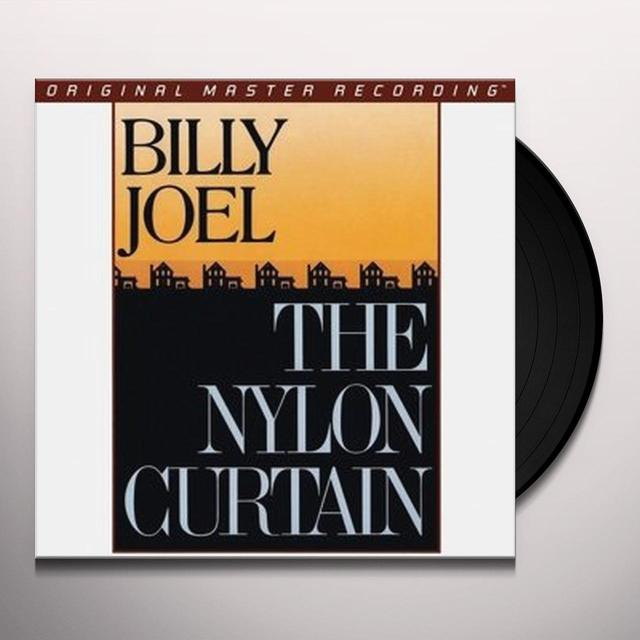 Billy Joel NYLON CURTAIN Vinyl Record - Limited Edition, 180 Gram Pressing