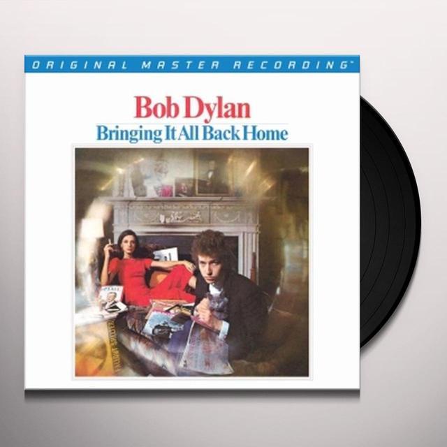 Bob Dylan BRINGING IT ALL BACK HOME Vinyl Record - Limited Edition, 180 Gram Pressing
