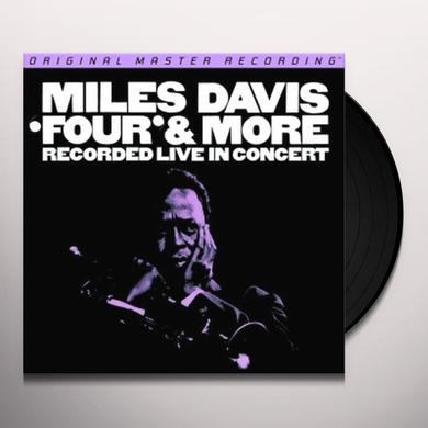 Miles Davis FOUR & MORE: RECORDED LIVE IN CONCERT Vinyl Record