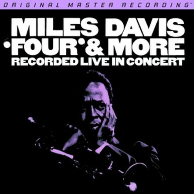 Miles Davis FOUR & MORE: RECORDED LIVE IN CONCERT Vinyl Record - Limited Edition, 180 Gram Pressing