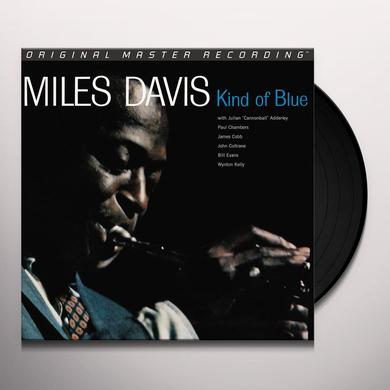 Davis Miles KIND OF BLUE Vinyl Record - Limited Edition, 180 Gram Pressing