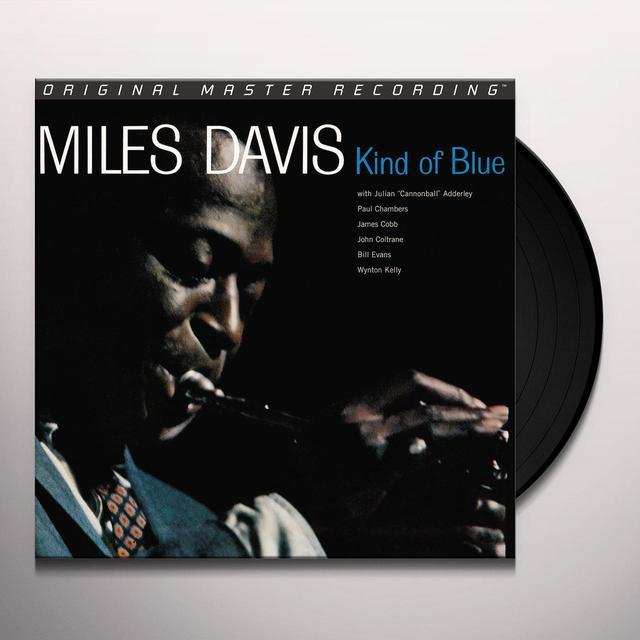 Davis Miles KIND OF BLUE Vinyl Record - Limited Edition, 180 Gram Pressing