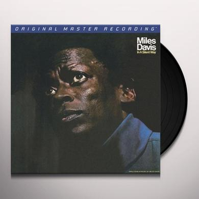Miles Davis IN A SILENT WAY Vinyl Record - Limited Edition, 180 Gram Pressing