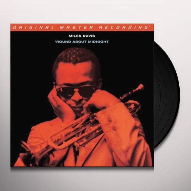 Miles Davis ROUND ABOUT MIDNIGHT Vinyl Record - Limited Edition, 180 Gram Pressing