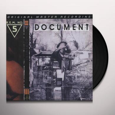 R.E.M. DOCUMENT Vinyl Record - Limited Edition, 180 Gram Pressing