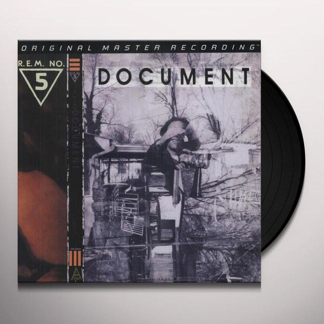 R.E.M. DOCUMENT Vinyl Record - Limited Edition, 180 Gram Pressing