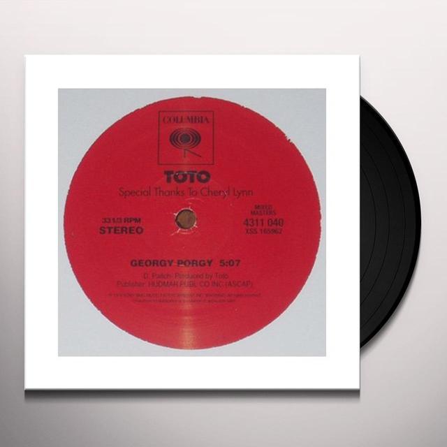 Toto GEORGY PORGY Vinyl Record