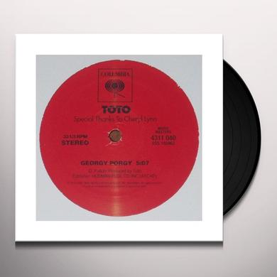 Toto GEORGY PORGY Vinyl Record